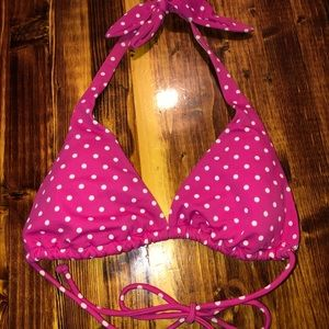 Victoria's Secret Polka Dot Bikini Top Small